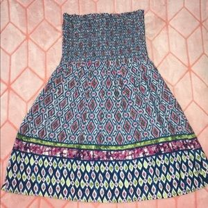 tube top pattern dress